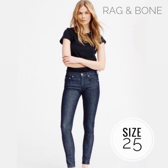 JEAN Skinny in SIZE 26 AND 27 *choose your COLOR /& STYLE* NEW rag /& bone